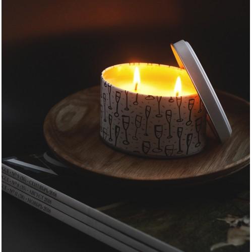 Свеча «Звон бокалов»